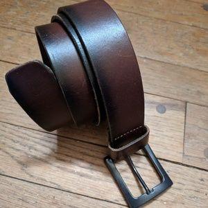 Carhartt ♠️ men's leather belt 40 EUC